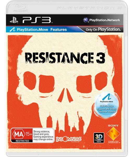 Resistance 3 [Platinum с поддержкой PS Move, русская версия] (PS3)